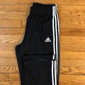 NWOT Adidas Men's Black/White Stripes Sweatpants